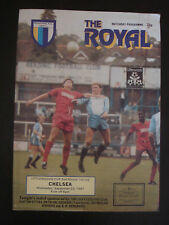 Reading v Chelsea 1987/88 Littlewoods Cup Official Football Programme