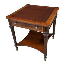 NSI206, Niagara Furniture, Square Mahogany End Table, End Table