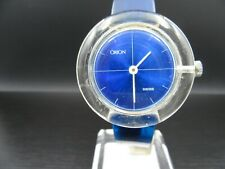 "O527 ⭐⭐Vintage "" Orion Swiss "" Hand Wound Wrist Watch Defective ⭐⭐"
