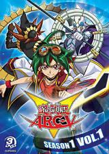 Yu-Gi-Oh Arc-V: Season 1, Volume 1 (DVD, 2016, 3-Disc Set)