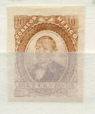 Mexico 1879 early Juarez Issue Fine Used 10c. 310937