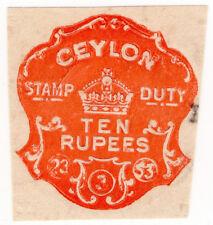 (I. B) Ceylon ricavi: colpito imposta di bollo 10R