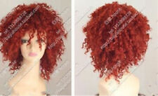 """Fashion wig new women""""s red short curly cosplay full wig"""