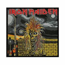 IRON MAIDEN - FIRST ALBUM COVER - WOVEN PATCH - BRAND NEW - MUSIC BAND 2546