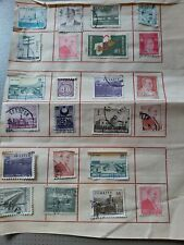 23 Various Vintage Turkish Stamps From Album