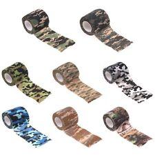 4,5mx5cm Tarnband Klebeband Gewebeband Camo Camouflage Tape Isolierband Ducttape