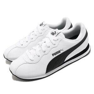 Puma Turin II 2 White Black Men Unisex Running Walking Casual Shoes 366962-04