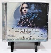 Disney Rogue One A Star Wars Story Motion Picture Soundtrack CD 2016 NEW SEALED