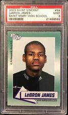 2002-03 Rookie Review #6 LeBron James True Rookie PSA 9 Mint HOLY GRAIL! 1/1