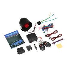 Auto Vehicle Burglar Alarm Protection Remote Security Keyless Entry System G7Q3