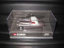CORGI CLASSIC 1/43 JAGUAR XK 120 SOFT TOP GREY  AWESOME LOOKING MODEL  #03001