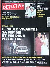 Détective n°1013 (13 fév 2002) Patrice Alègre -Margaret l'adieu-Boulevard Palais