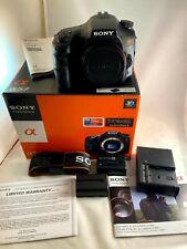 Sony Alpha Slt-A57 16.1Mp Digital Slr Camera - Black (Body with extras)