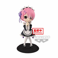 BANPRESTO Re:Zero -Starting Life in Another World- Q posket-Ram-(ver.A)