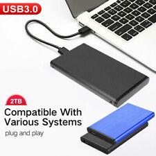 Portable USB 3.0 2TB External Hard Drive HDD External HD Disk Storage Devices