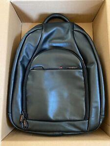 "Samsonite business 17"" laptop leather PRO-DLX backpack"