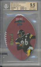 1998 Playoff Contenders Leather Gold #74 Hines Ward /55 RC BGS 9.5 = PSA 10
