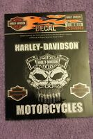 Harley Davidson  Motorcycles Sticker/Decal Licensed Product NEW #DC869062