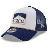 Kevin Harvick New Era Busch 9FORTY A-Frame Trucker Mesh Adjustable Snapback Hat