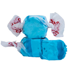BLUE RASPBERRY Salt Water Taffy Candy ~ TAFFY TOWN ~ 50 Pieces - FREE SHIPPING