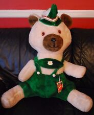 Vintage 1960s Fable Toy Company Peter Pan Robin Hood Huge 2 ft Teddy Bear w/ Tag
