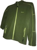 MARMOT Fleece Full Zip Jacket Women Girls Xl Green Base Layer Long Sleeve