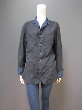 45rpm 100 % cotton indigo jacket NEW with TAG size : 4 can be worn by women