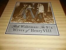 "Rick Wakeman LP ""The Six Wives Of Henry VIII"
