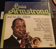Louis Armstrong His Stars Mulligan Herbert Bigard Shaw Hackett Hall Catlet 4 LPs