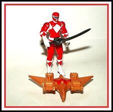 2010 _ Mighty Morphin Power Rangers _ Dino Flyer _ Red Ranger / Jason