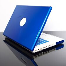 BLUE Crystal Hard Case Cover for OLD Macbook White 13""