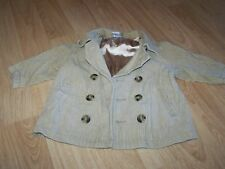Size 12-18 Months Gymboree Tan Brown Corduroy Jacket Coat Blazer GUC