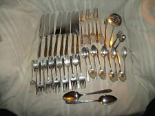 Oneida community Grosvenor silverplate flatware 42 pc