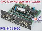 APS AP9607 UPS INTERFACE EXPANDER 640-0806C RS-232 INTERFACE KARTE CARD K825