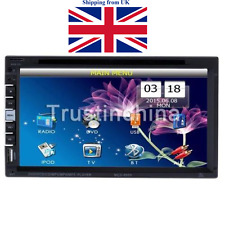 """7"""" In Dash Stereo Car DVD CD Player Bluetooth FM/AM Radio SD/USB Double 2 Din UK"""
