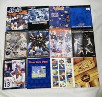 LOT OF 12 NEW YORK METS YEARBOOKS 2006 - 1995