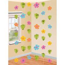 Amscan Hawaiian Hibiscus Strings Decorations - Item