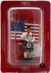 Figurine Del Prado Pompier Tenue de Cérémonie Etats Unis 2003 Figure Fireman