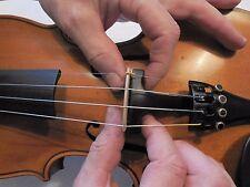 Geigensteg Kinnhalter Geige Violine Saite Bogen Noten Steg Geigenbau Kolophonium