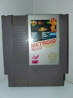 1986 Metroid NINTENDO ENTERTAINMENT SYSTEM (NES)