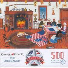 Charles Wysocki 500 Pcs Buffalo Games Jigsaw Puzzle The Quiltmakers  NIB