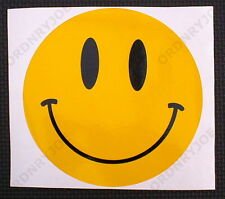 SMILEY FACE vinyl car decal sticker 15cm -6inch dia.