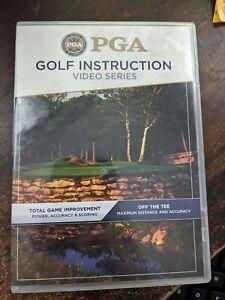 PGA Golf Instruction DVD Total Game Improvement/Off The Tee 2006 PGA