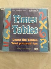 Times Tables Learning Maths Children Education CD Learn Times Tables