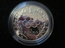 Estados unidos 1 dólares 1988 s -- los juegos olímpicos pp -- plata
