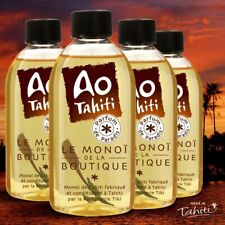 4 MONOI AO TAHITI 120 ML DONT 1 GRATUIT HUILE MONOÏ PARFUM DE PARADIS