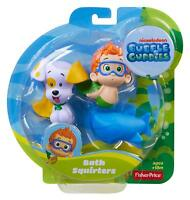 Fisher-Price Bubble Guppies, Bath Squirters: Nonny, Bubble Puppy and Shark