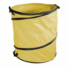 Amazing Rake Yellow 40 Gal. Garden Pop Up Bag Stays Wide Open
