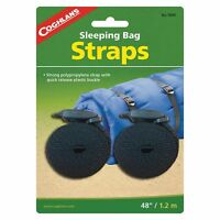 "Coghlan's Sleeping Bag Straps w/Tab Release Buckle 2-Pack 3/4""x48"" Polypropylene"