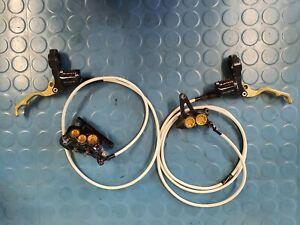 HOPE Mono 6 Ti Brakes Hydraulic brakes 6 piston goodridge hoses downhill brakes